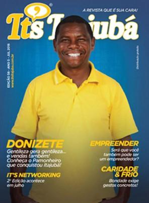 Ed. 58 - Revista It's Itajubá - Capa Donizete de Souza