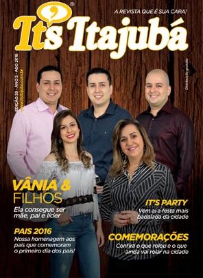 Ed. 59 - Revista It's Itajubá - Capa Família Ribeiro Fortes - Toca do Caboclo