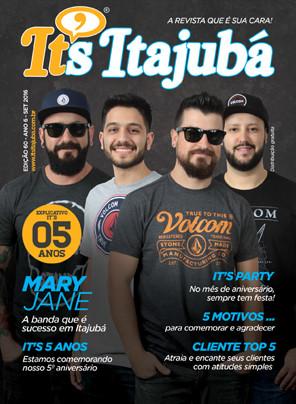 Ed. 60 - Revista It's Itajubá - Capa Banda Mary Jane