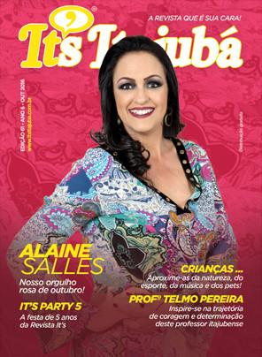 Ed. 61 - Revista It's Itajubá - Capa Alaine Salles