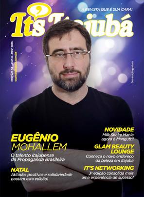 Ed. 63 - Revista It's Itajubá - Capa Eugenio Mohallem