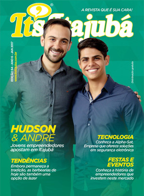 Ed. 65 - Revista It's Itajubá - Capa Hudson e André - Atos Cortinas