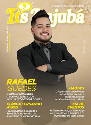 Ed. 67 - Revista It's Itajubá - Capa Cerimonialista Rafael Guedes