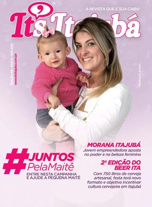 Ed. 68 - Revista It's Itajubá - Capa Rúbia Laurelli - Juntos Pela Maitê
