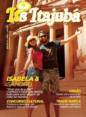 Ed. 64 - Revista It's Itajubá - Capa Isabela e Sandro - Viver por ar e mar