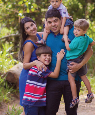 Symar Miranda e Familia