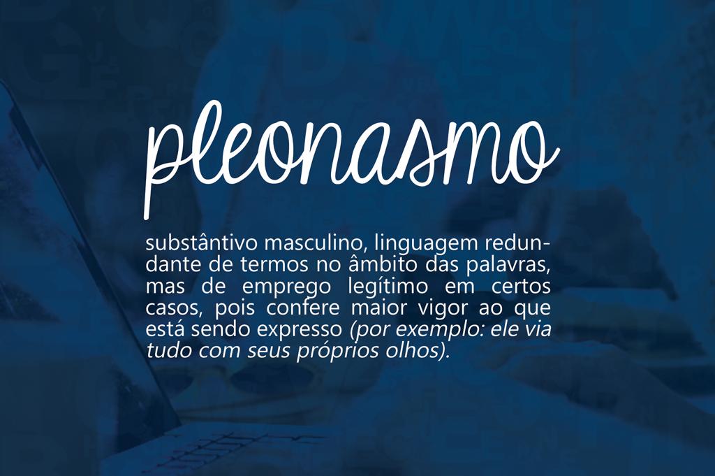 Em Bom Português - Pleonasmo - Bruna Machado 1