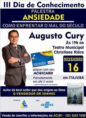Augusto Cury em Itajubá