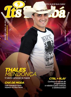 Ed. 70 - Revista It's Itajubá - Capa Thales Mendonça - O talento sertanejo de Itajubá