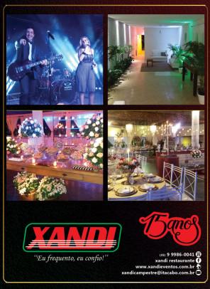 Xandi Restaurante e Eventos - 15 anos