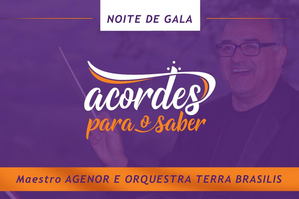 Acordes para o Saber em Itajubá - Orquestra Terra Brasilis regência Maestro Agenor Ribeiro Netto 1