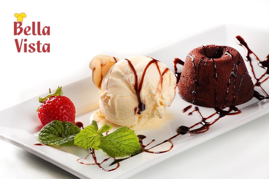 Gastronomia - A autoria  do Petit Gateau - Chef Duda Medrano Bella Vista Restaurante Itajubá 1
