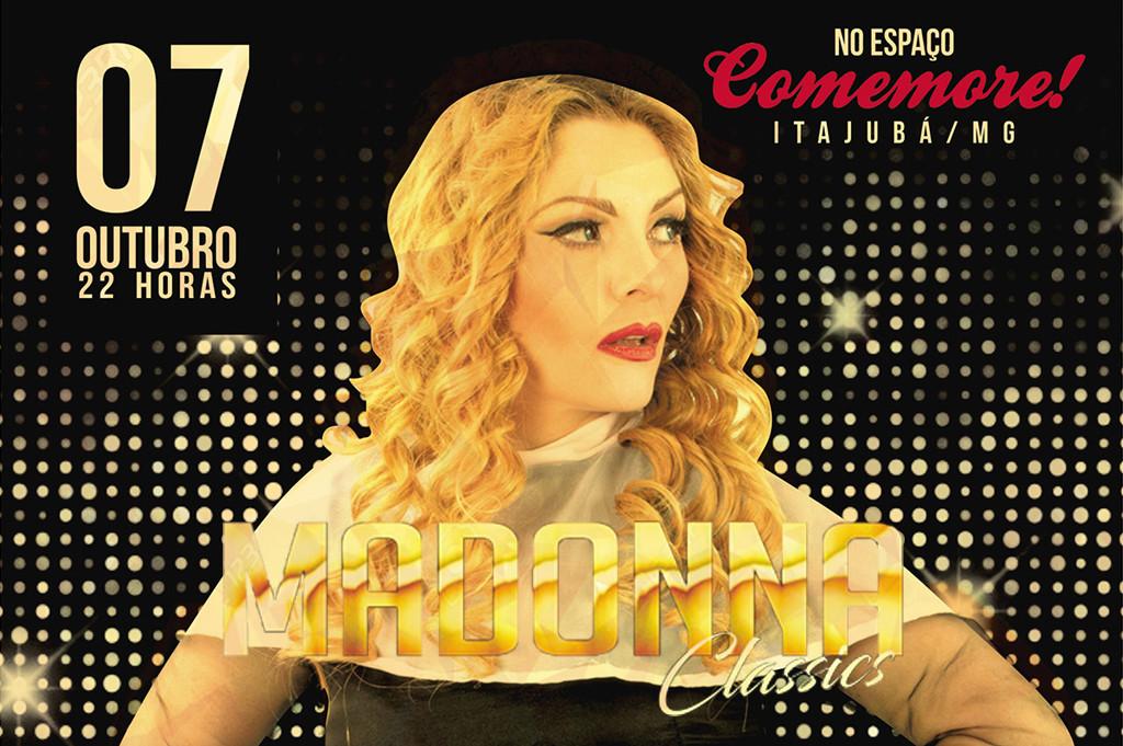 Tributo a Madonna - Verônica Pires em Itajubá - Balada Vip 1