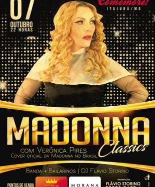 Tributo a Madonna - Verônica Pires em Itajubá - Balada Vip 2