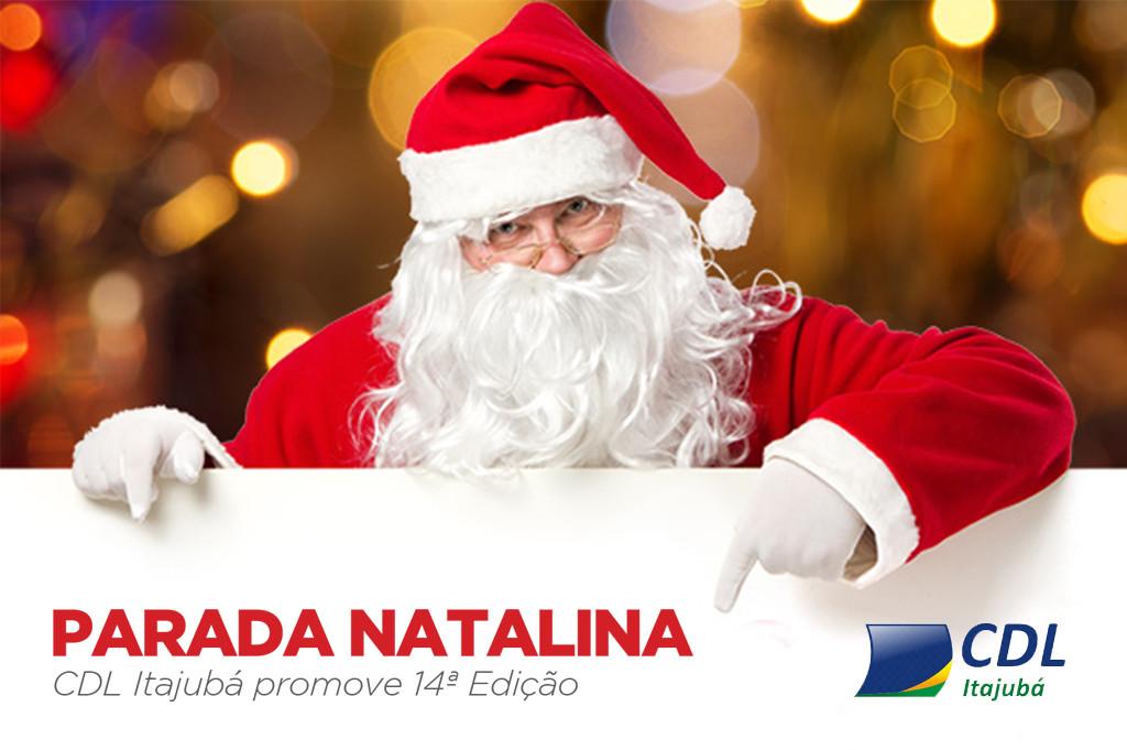 14ª Edição Parada Natalina CDL Itajubá 1
